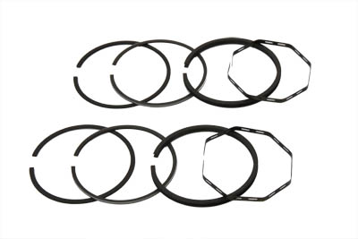 "80"" Shovelhead Piston Ring Set .010 Oversize"