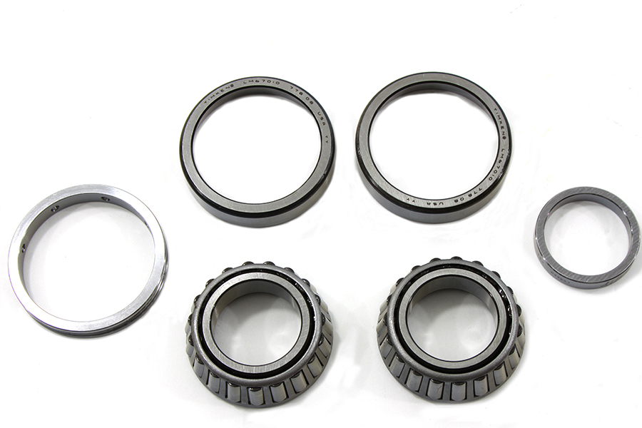 Left Crankcase Main Bearing Set
