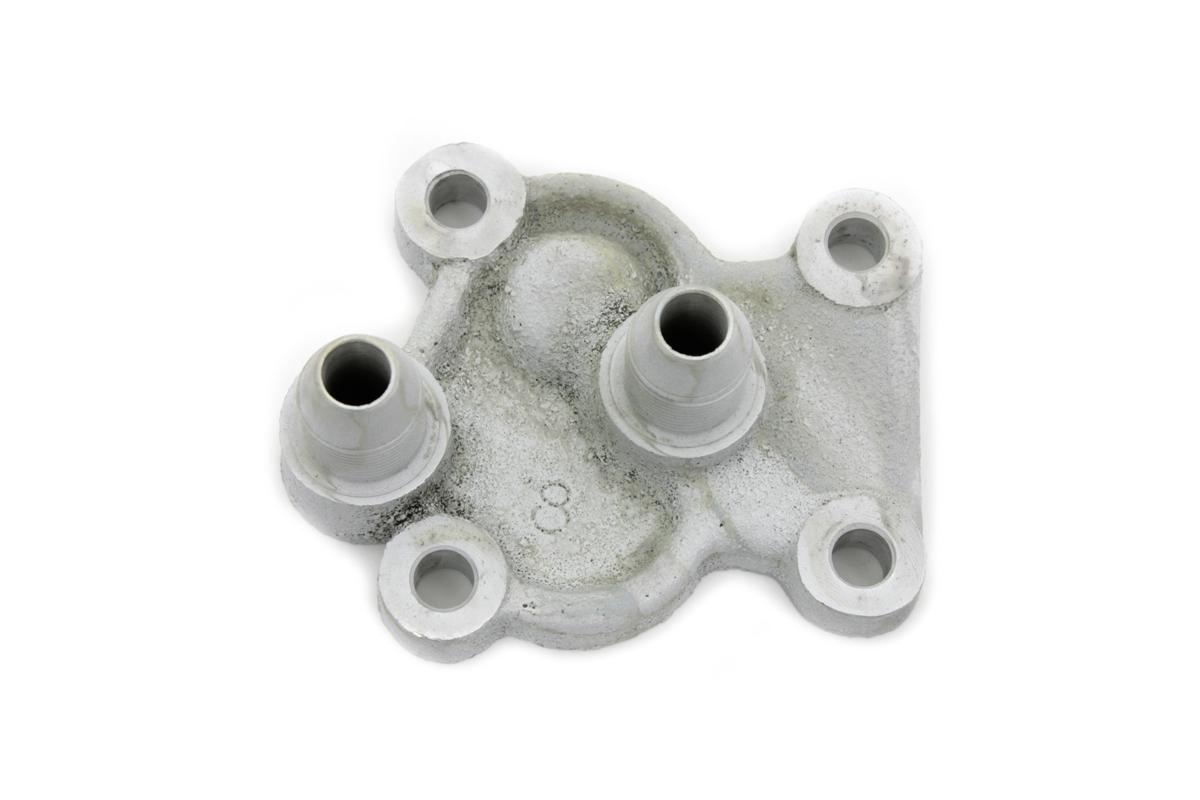 Cadmium Plated Replica Oil Pump Cover