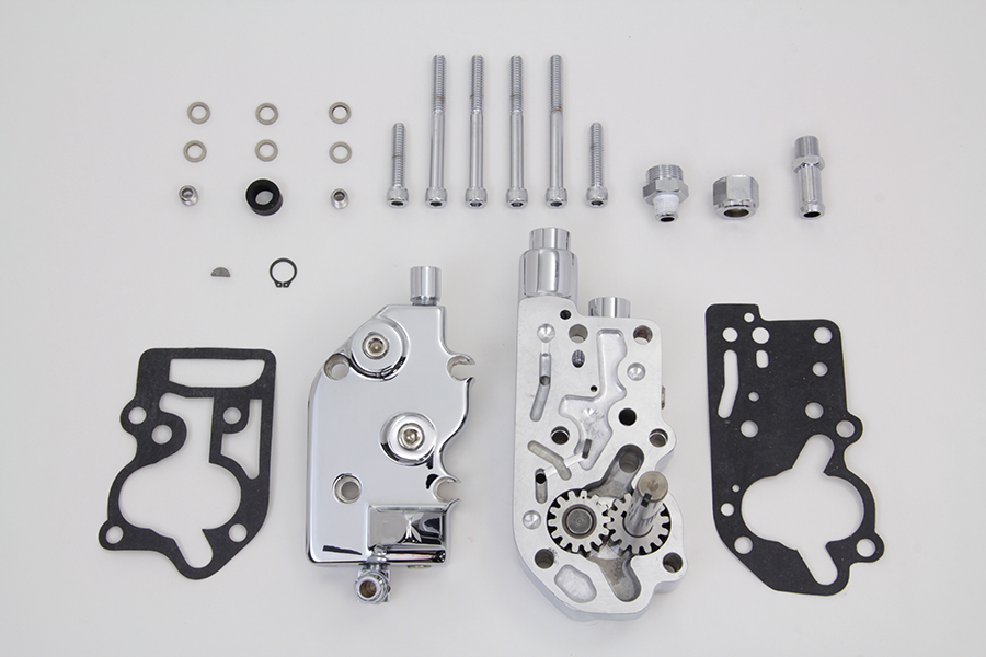 Chrome Oil Pump Assembly