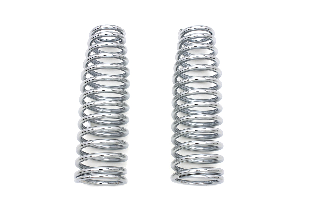 Chrome Upper Spring Fork Springs