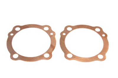 V-Twin Cylinder Head Gaskets Copper