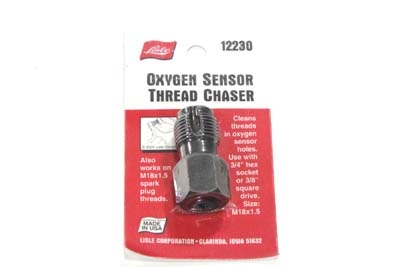 Oxygen Sensor Plug Thread Chaser Tool 18mm