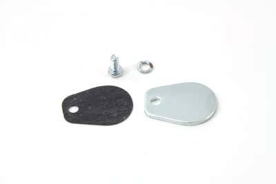Zinc Speedometer Block Off Plate Kit