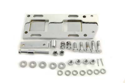 Transmission Mounting Plate Kit Chrome