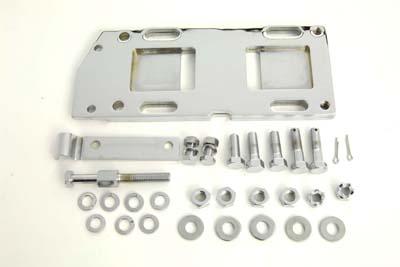 Transmission Mounting Plate Kit Chrome