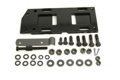 Transmission Mounting Plate Kit Black