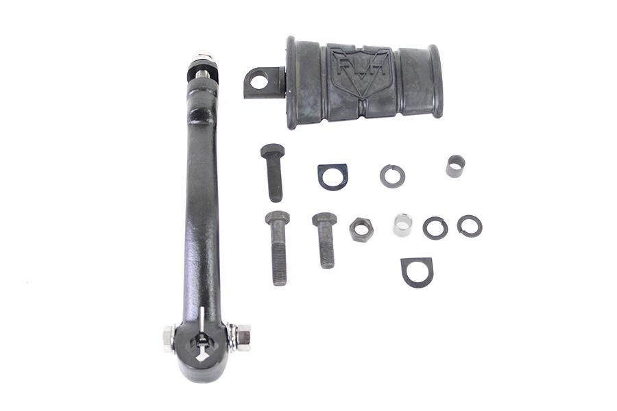 Kick Starter Arm and Pedal Kit Black