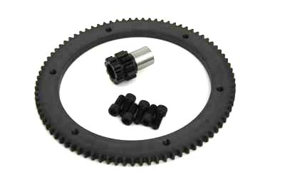 84 Tooth Clutch Drum Ring Gear Kit Chain Drive