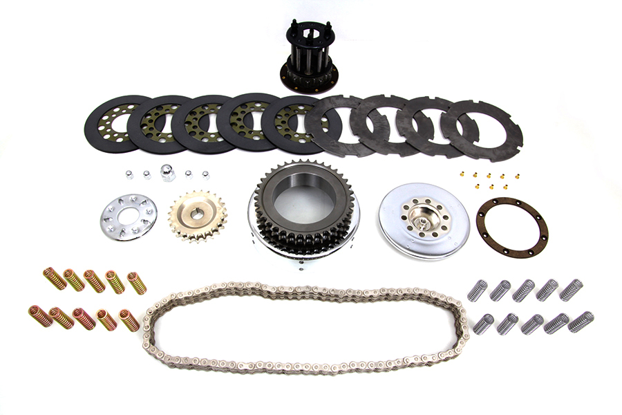 Primary Chain Drive Kit Chrome
