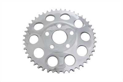 Rear Chrome 46 Tooth Sprocket