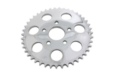 Chrome 43 Tooth Rear Sprocket