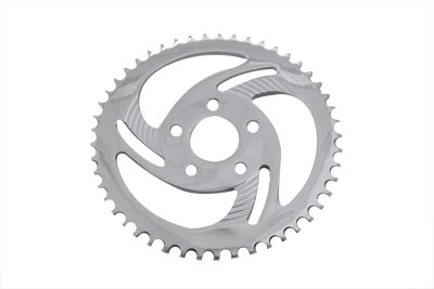 Rear Sprocket Chrome Lazer 49 Tooth
