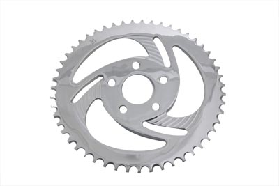 Rear Sprocket Chrome Lazer 51 Tooth