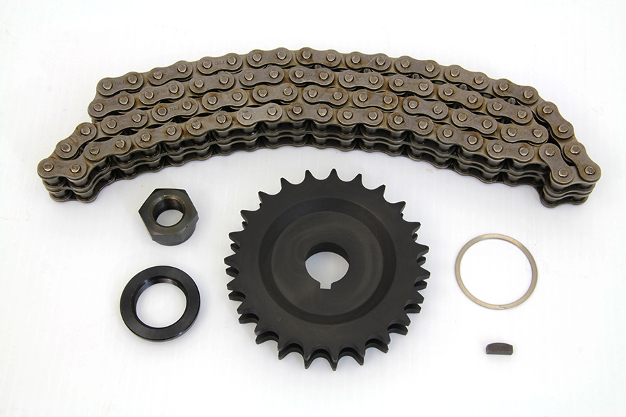 York 23 Tooth Sprocket and 82 Link Chain Kit
