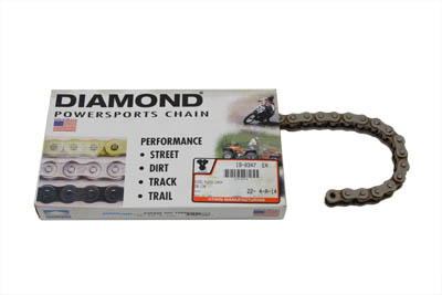 .530 102 Link Chain Nickel Plated