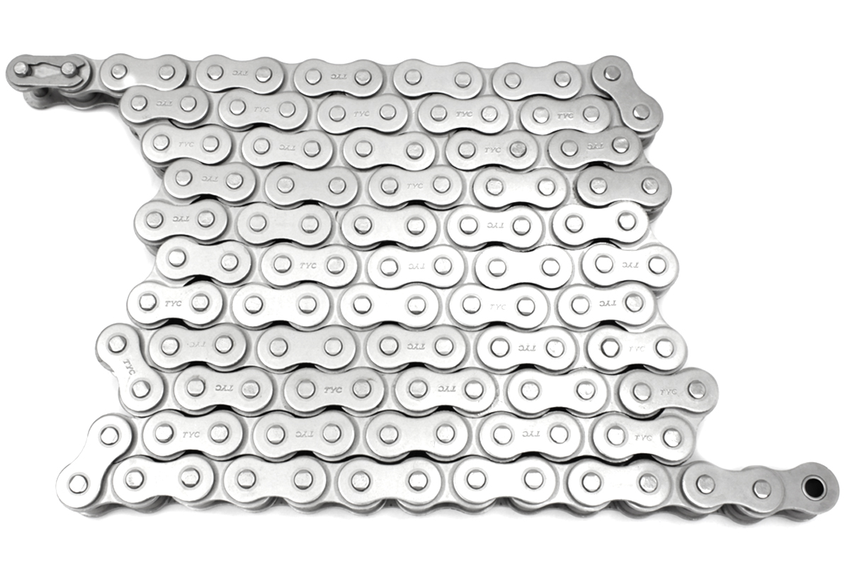 Nickel Plated Chain 120 Link