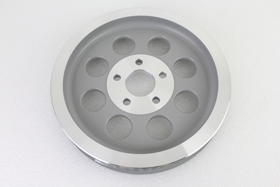 Silver Rear Belt Pulley 65 Tooth