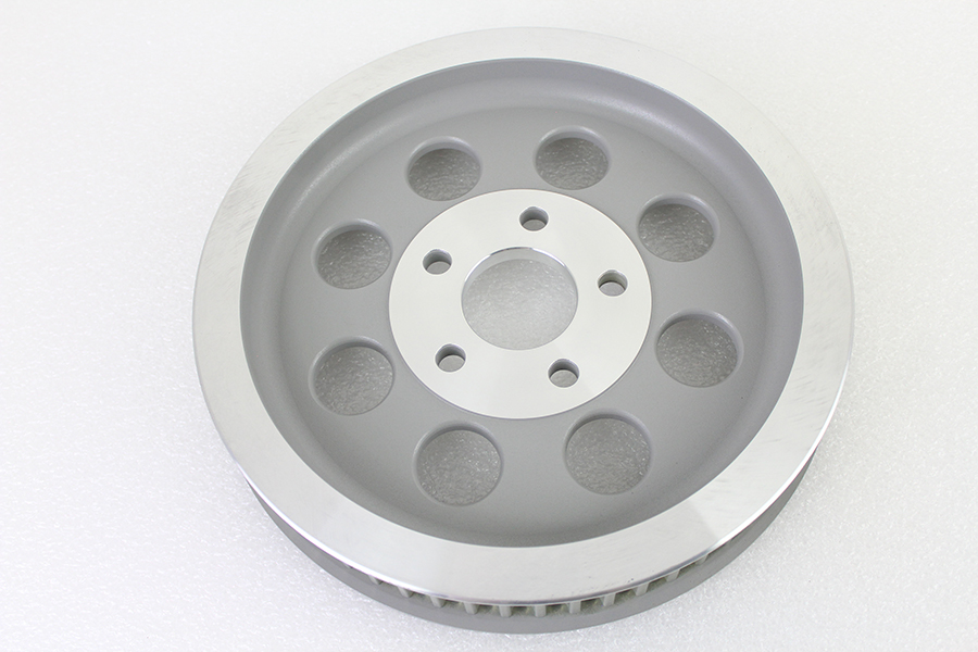 Silver Rear Belt Pulley 61 Tooth