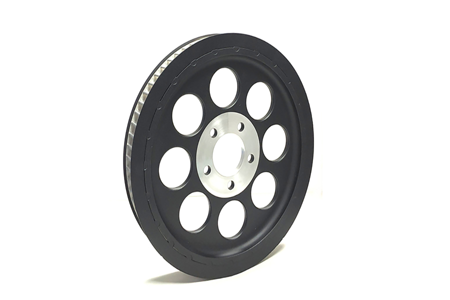 Black Rear Belt Pulley 70 Tooth
