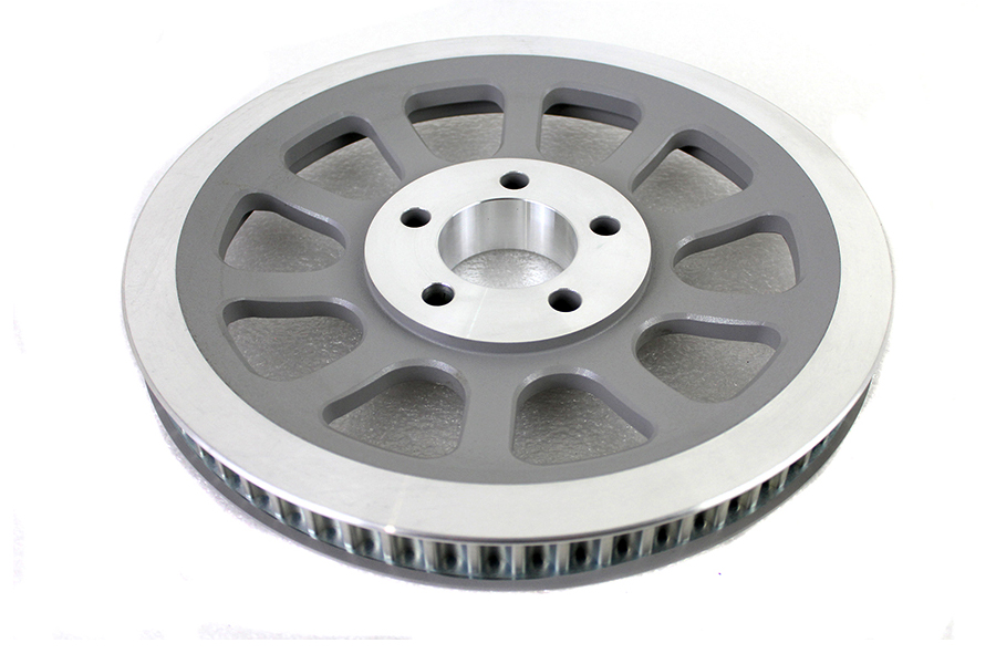 Silver Rear Belt Pulley 66 Tooth