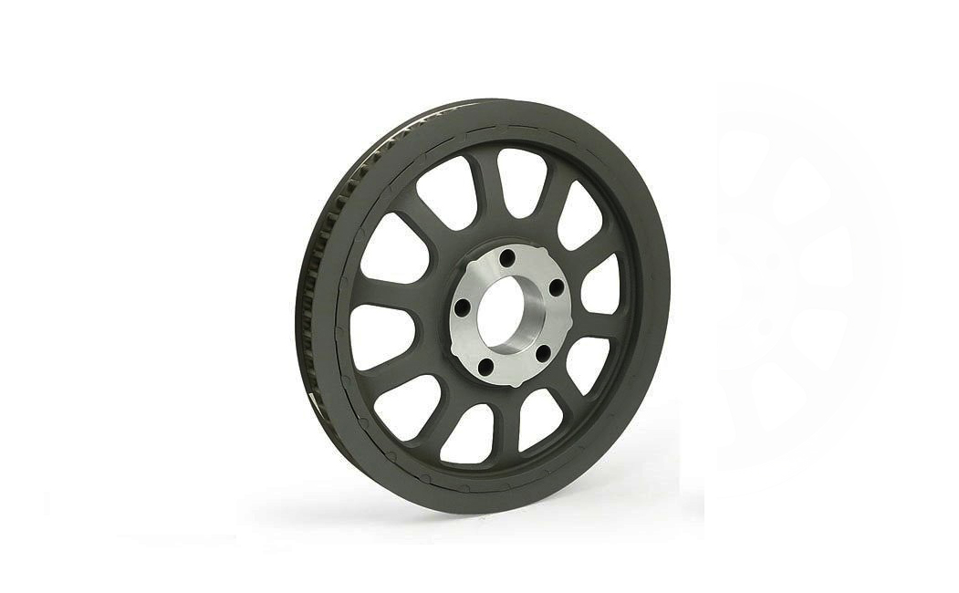 Black Rear Belt Pulley 66 Tooth