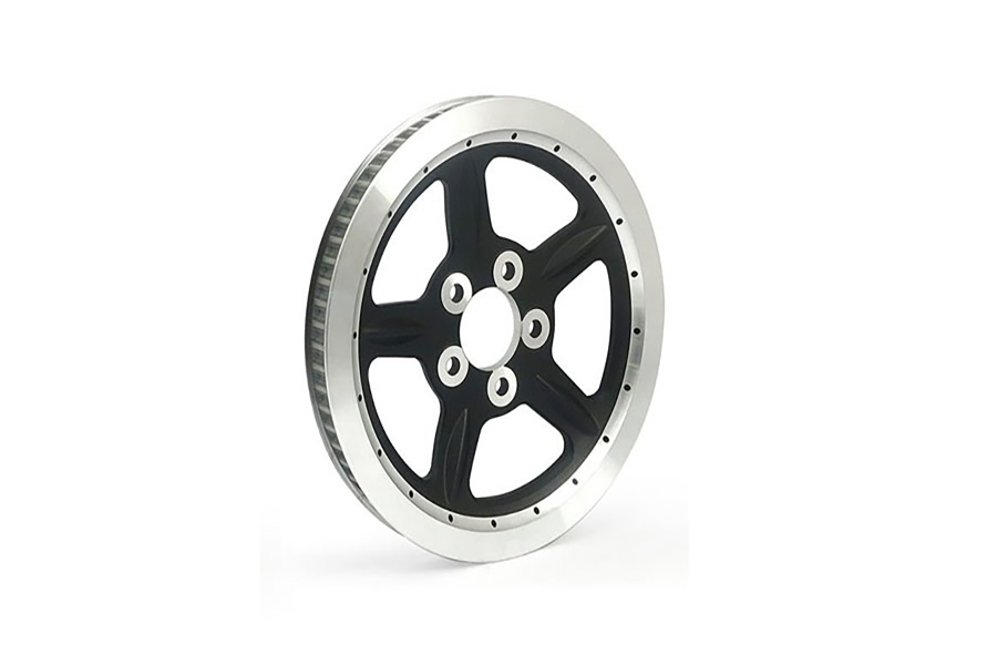 Silver Rear Belt Pulley 68 Tooth