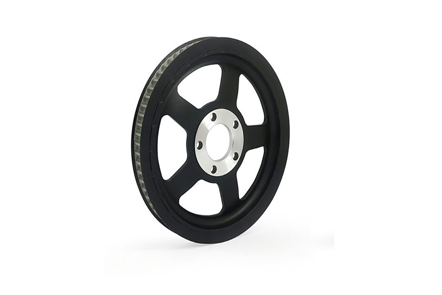 Black Rear Belt Pulley 68 Tooth