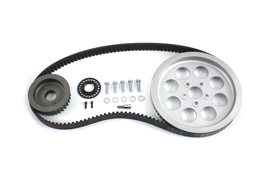 Rear Belt and Pulley Kit Alloy