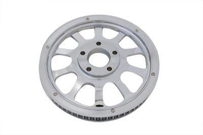 Rear Pulley 66 Tooth Chrome