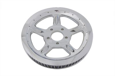 *UPDATE Rear Drive Pulley 68 Tooth Chrome