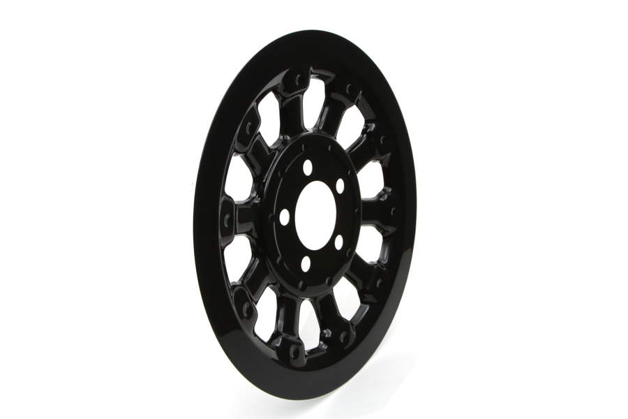 Magnum Pulley Cover 66 Tooth Black