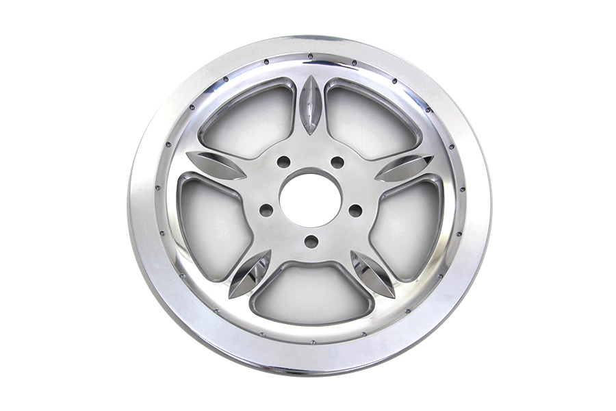Rear Drive Pulley 68 Tooth Chrome