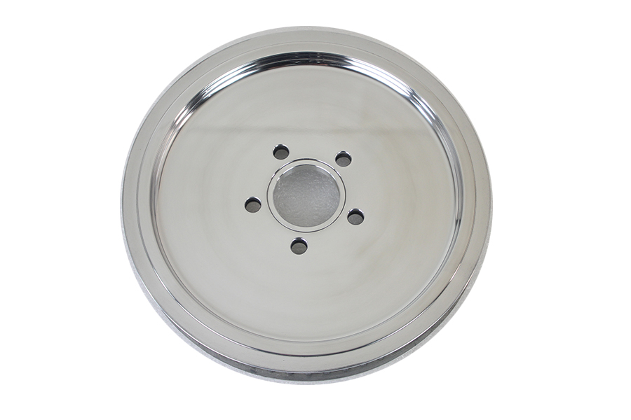 Smooth Rear Drive Pulley 61 Tooth Natural Finish