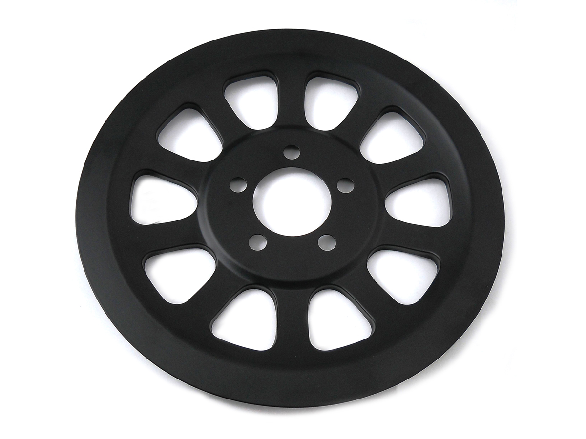 Outer Pulley Cover 66 Tooth Black