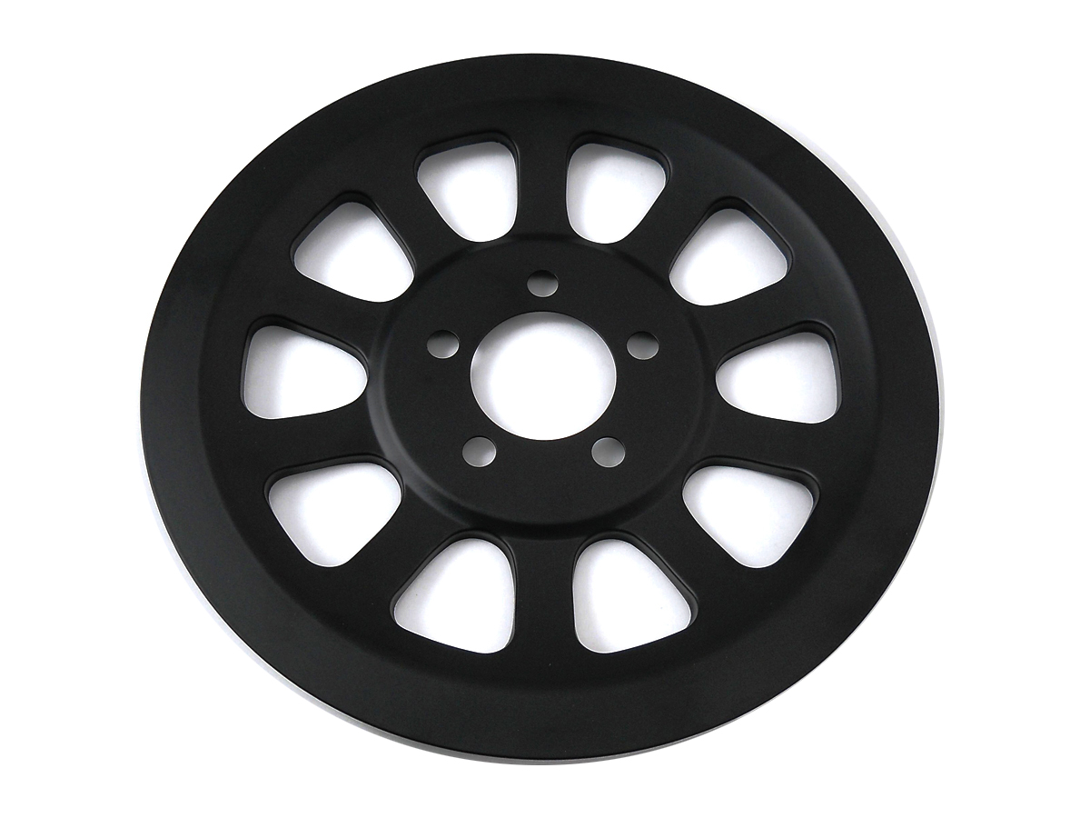 Outer Pulley Cover 70 Tooth Black