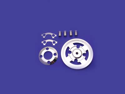 Billet Clutch Pressure Plate Kit Chrome