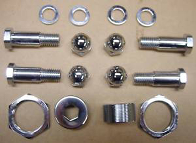 Chrome Rocker Bolt Kit