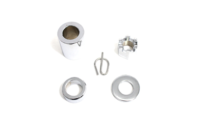 Rear Axle Spacer Smooth Style Chrome