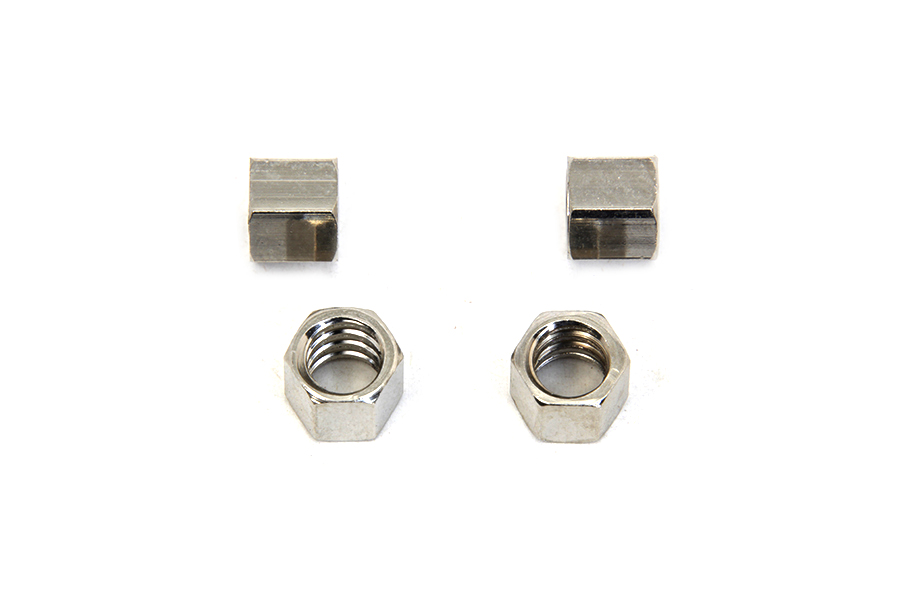 Control Coil Nuts Nickel Plated