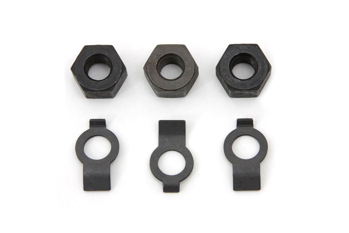 Clutch Spring Guide Stud Nut Locks and Nut Kit