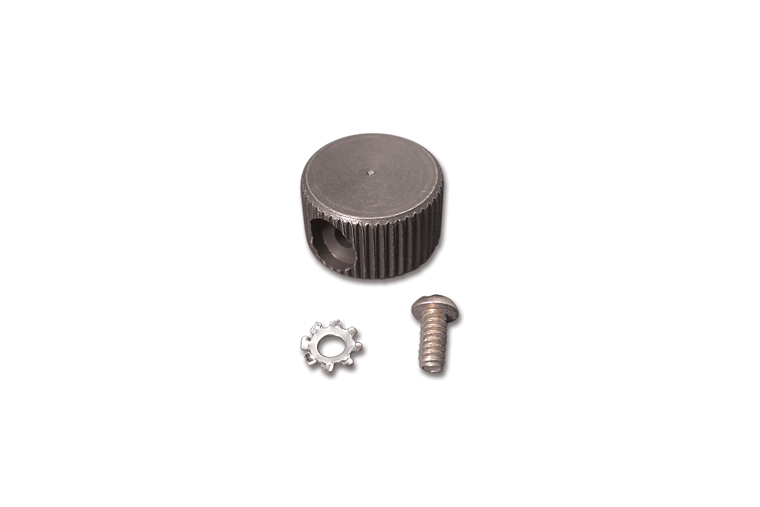 Parkerized Panel Switch Knob and Screw Kit