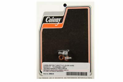 Cadmium Carburetor Throttle Lever Wire Block Kit