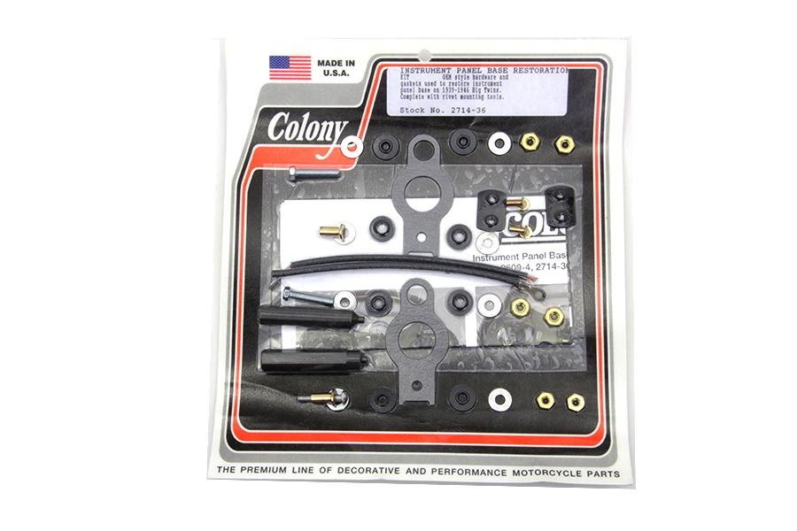 Details about Instrument Panel Base Restoration Kit,for Harley Davidson,by  V-Twin