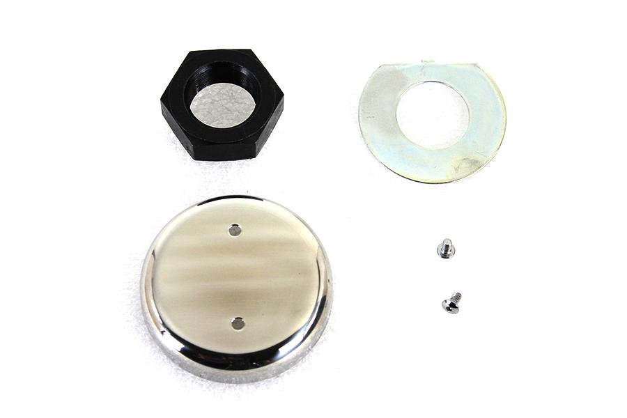 Chrome Plated Stem Nut Kit