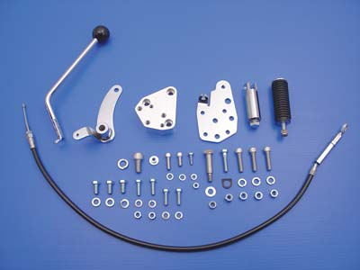 Chrome Jockey Clutch Pedal Kit