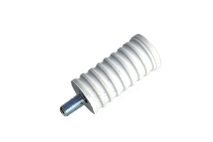 Shifter Footpeg White Rubber