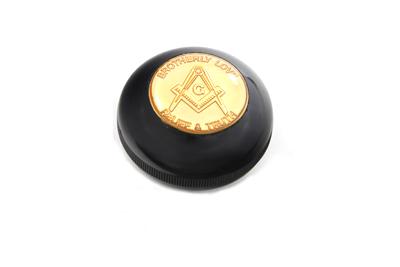 Jockey Shifter Knob Masonic Style