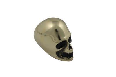 Brass Skull Style Shifter Knob