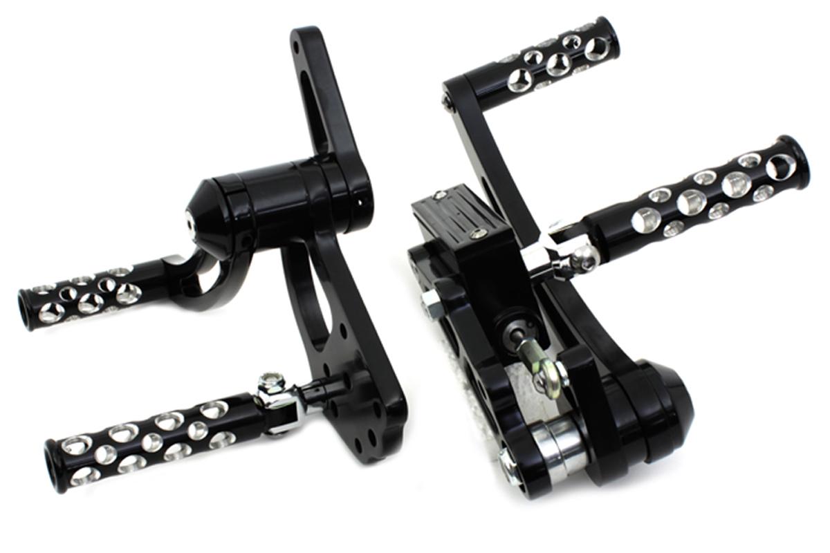 Black Forward Control Kit